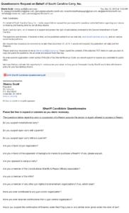 original request email
